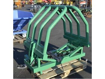 Unused Bale Grapple to suit Euro Hitch - clemă