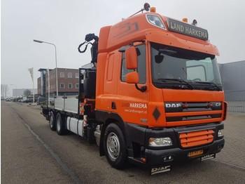 Camion furgon DAF 85 CF 410 Manual Fassi 33 tm