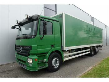 Mercedes-Benz ACTROS 2536 6X2 BOX AUTOMATIC FULL AIR EURO 5  - camion furgon