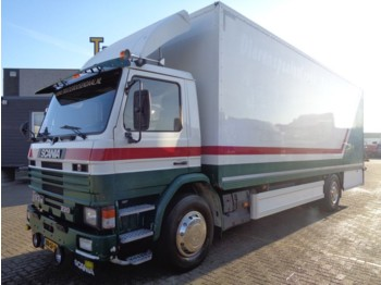 Scania 93M.220 + MANUAL + LIFT - camion furgon