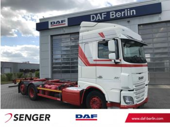 DAF XF 460 FAR Space Cab, Langendorf BDF Wechselsyst  - camion transport containere/ swap body