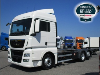 Camion transport containere/ swap body MAN TGX 26.480 6X2-2 LL