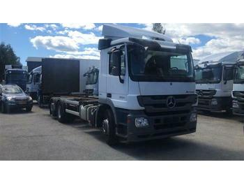 Mercedes-Benz ACTROS 2532 - SOON EXPECTED -  6X2 BDF EURO 5  - camion transport containere/ swap body