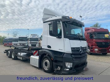 Mercedes-Benz *ANTOS 2540*EURO 6*RETARDER*UMSETZER*LENKACHSE*  - camion transport containere/ swap body