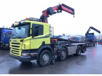 SCANIA P420 8x2*4 - camion transport containere/ swap body