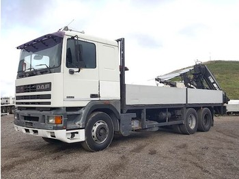 DAF 95 ATI 360 STEEL SUSPENSION - dropside camion