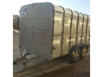 Ifor Williams Twin Axle Live Stock Trailer - remorcă transport animale