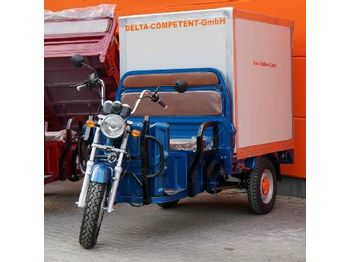 Unused Delta Electric Carrier Transport Tricycle, Transport Box, Tippercapacity 364 kg, 72V-45Ah-1200W (COC/Reg Docs Available) - maşină de tuns iarba