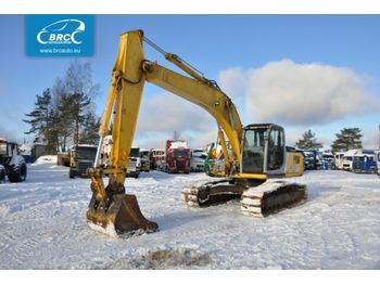 NEW HOLLAND E 215 - excavator pe şenile