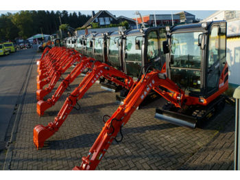 Minibagger Nante NT18 A inkl. Anhänger 2700kg  - mini excavator